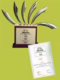 02 INDIA PRIDE GOLD AWARD-2010
