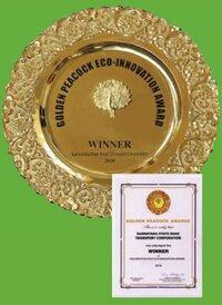 14 GOLDEN PEACOCK AWARD-2010
